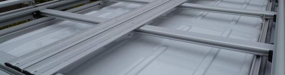 Aluminium dakdragers